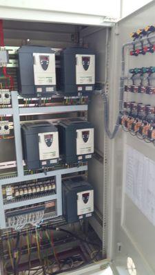 配电柜施耐德变频器矿用图纸阻车器图片